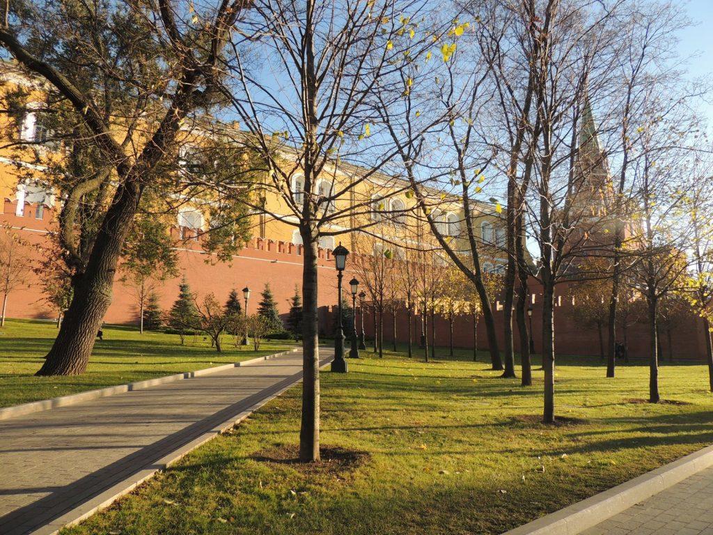 Parque junto al Kremlin