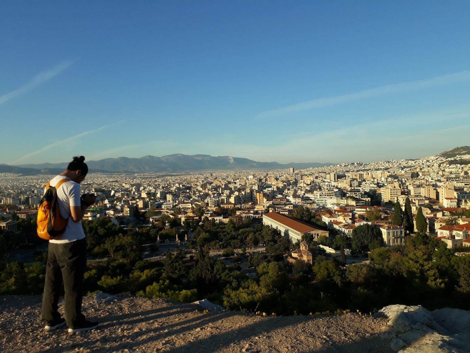 Atenas desde el Areópago